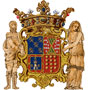 Coat of arms of Francisco de los Cobos and María de Mendoza (Chapel of the Saviour)